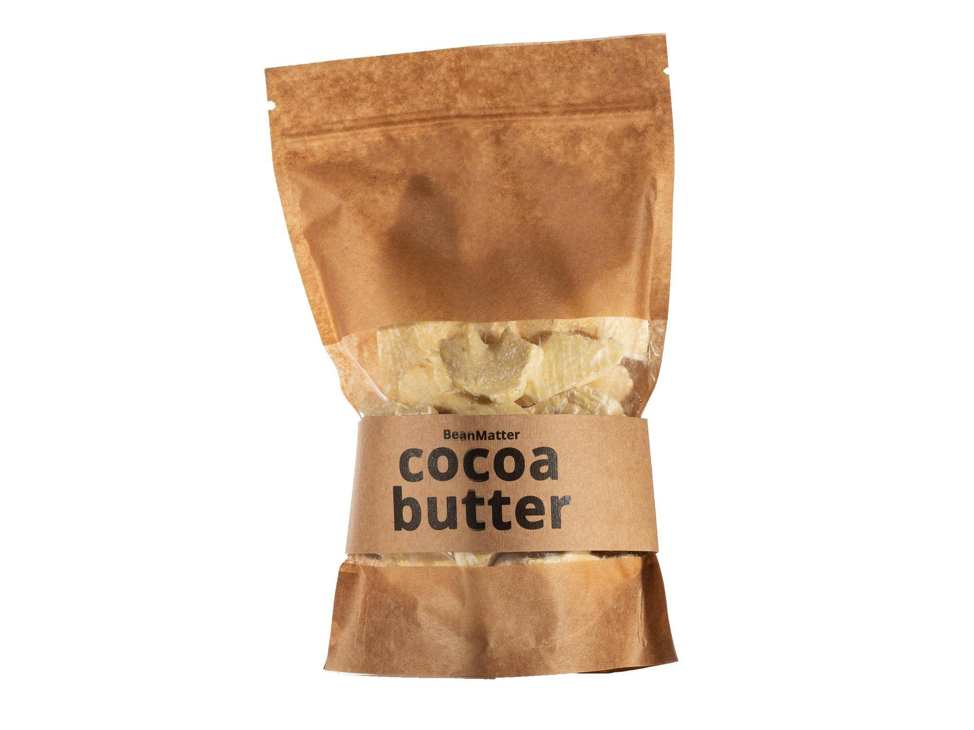 Naturalne Masło Kakaowe Nierafinowane 500g Ekwador